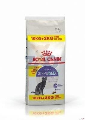 ROYAL CANIN Sterilised 37 10kg+2kg