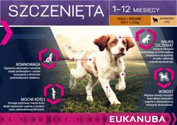 EUKANUBA Puppy&Junior Lamb&Rice All Breeds 12kg