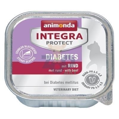 Animonda Integra Protect Adult Diabetes  Z wołowiną 100 g