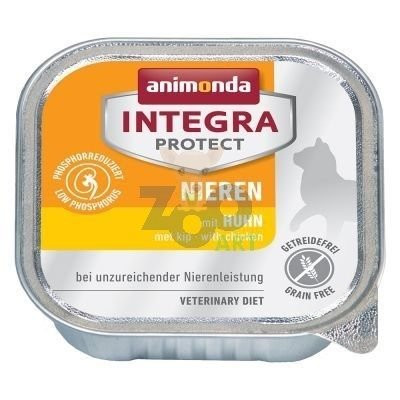 ANIMONDA Cat Integra Protect Renal (NIEREN) kurczak 100g tacka