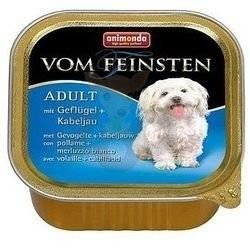 ANIMONDA Dog Vom Feinsten Adult, smak: z drobiem + dorsz atlantycki 150g