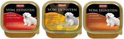 ANIMONDA Dog Vom Feinsten Junior MIX Smaków 24 x 150g