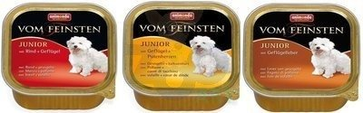 ANIMONDA Dog Vom Feinsten Junior MIX Smaków 6 x 150g
