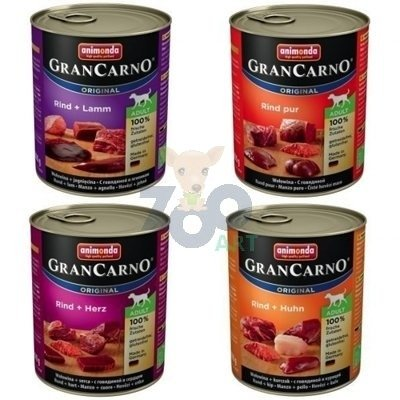 ANIMONDA GranCarno Adult Dog 24x800g MIX