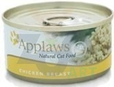 APPLAWS Natural Cat Food Kurczak 24 x 156g