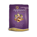 APPLAWS Natural Cat Food Kurczak I Dziki Ryż 70g saszetka