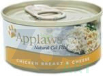 APPLAWS Natural Cat Food Kurczak I Ser 70g