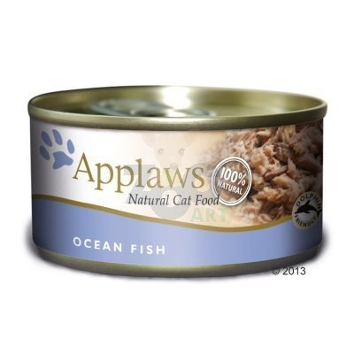 APPLAWS Natural Cat Food Ryba Oceaniczna 156g