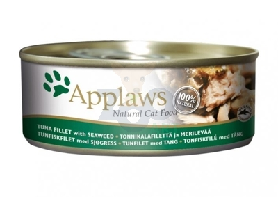 APPLAWS Natural Cat Food Tuńczyk i Wodorosty 70g
