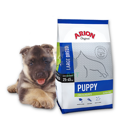 ARION Original Puppy Large Breed Chicken & Rice 3kg