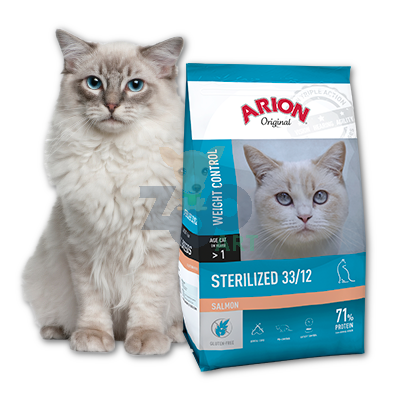 Arion Original Cat Sterilised 33/12 Salmon 7.5kg