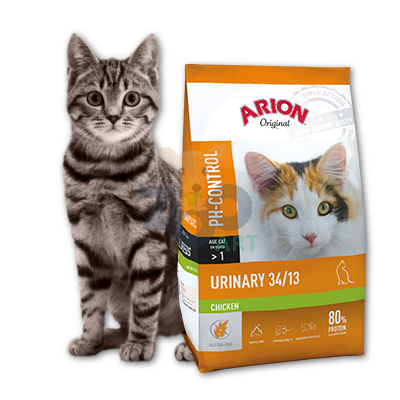 Arion Original Cat Urinary 34/13 Chicken 7,5kg