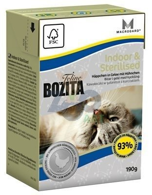 BOZITA Feline Indoor Sterilised 190g