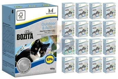 BOZITA Feline Outdoor Active 16 x 190g