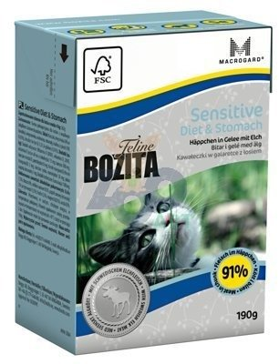 BOZITA Feline Sensitive Diet Stomach 190g