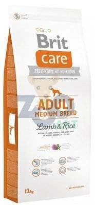 BRIT CARE Adult Medium Breed Lamb & Rice 12kg + PRZESYŁKA GRATIS!!!