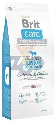 BRIT CARE GRAIN FREE JUNIOR LARGE SALMON & POTATO - 3KG