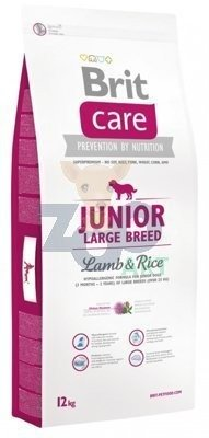 BRIT CARE JUNIOR LARGE BREED 12kg + 5x kabanos