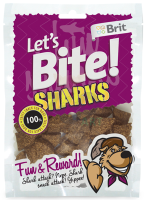 BRIT Let's Bite Sharks 150 g