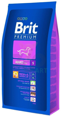 BRIT Premium Adult S (Small) 3kg