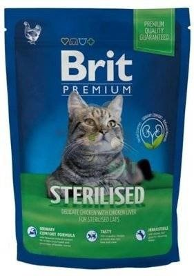 BRIT Premium Sterilised Cat 1,5kg