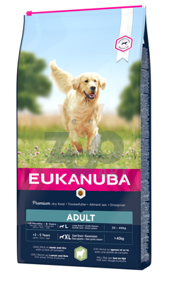 EUKANUBA Adult Large Breed Lamb&Rice 12kg