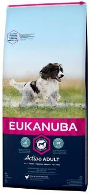 EUKANUBA Adult Medium Breed Chicken 15kg
