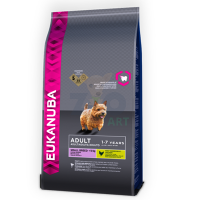 EUKANUBA Adult Small Breed Chicken 7,5kg