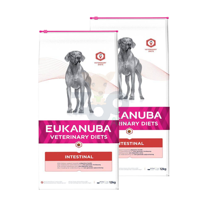 EUKANUBA Intestinal Dog  2x12kg
