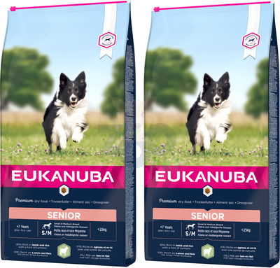 EUKANUBA Mature&Senior All Breeds Lamb & Rice 2x12kg