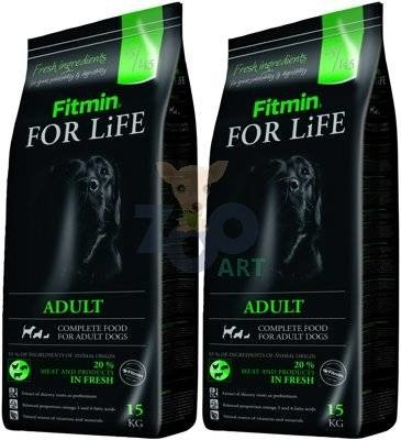 FITMIN For Life Adult All Breeds 2x15kg