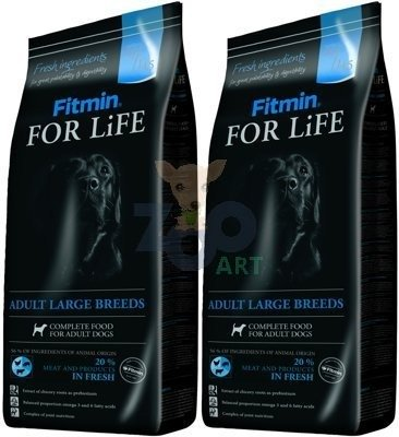 FITMIN For Life Adult Large Breeds 2x15kg
