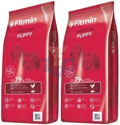 FITMIN Medium Puppy 2x15kg