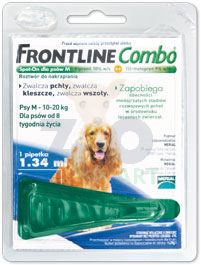 FRONTLINE Combo Spot -On Pies M 10-20kg (pipeta 1,34ml)