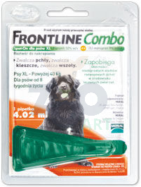 FRONTLINE Combo Spot -On Pies XL powyżej 40kg (pipeta 4,02ml)