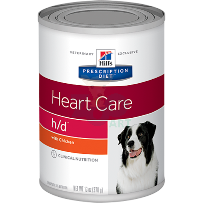 HILL'S PD Prescription Diet Canine h/d 370g - puszka
