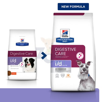 HILL'S PD Prescription Diet Canine i/d Low Fat 1,5kg