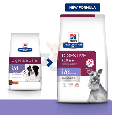 HILL'S PD Prescription Diet Canine i/d Low Fat 12kg