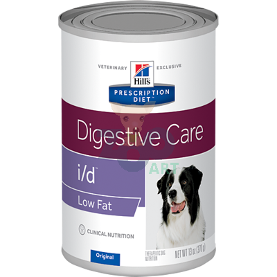 HILL'S PD Prescription Diet Canine i/d Low Fat 12x360g - puszka