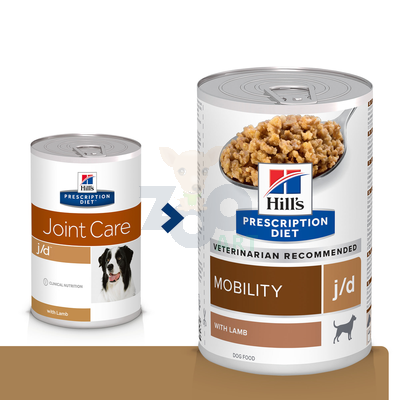 HILL'S PD Prescription Diet Canine j/d 370g - puszka