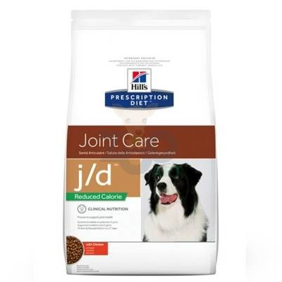 HILL'S PD Prescription Diet Canine j/d Reduced Calorie 4kg + PRZESYŁKA GRATIS!!!