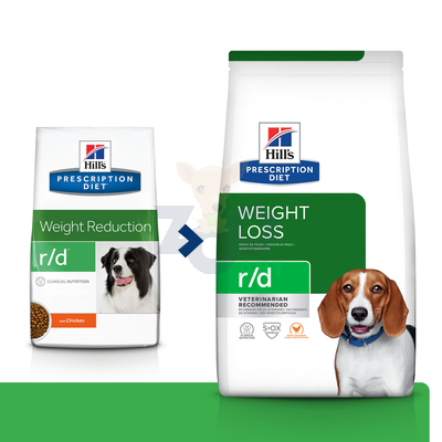 HILL'S PD Prescription Diet Canine r/d 1,5kg