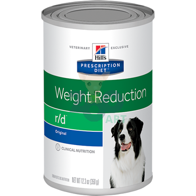 HILL'S PD Prescription Diet Canine r/d 6x350g - puszka