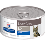 HILL'S PD Prescription Diet Feline L/d 156g-puszka