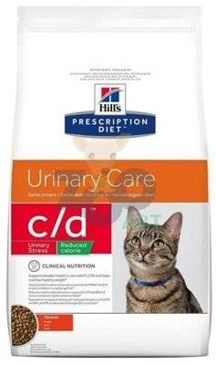 HILL'S PD Prescription Diet Feline c/d Urinary Stress Reduced Calorie 8kg