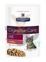 HILL'S PD Prescription Diet Feline i/d z łososiem 12x85g - saszetka