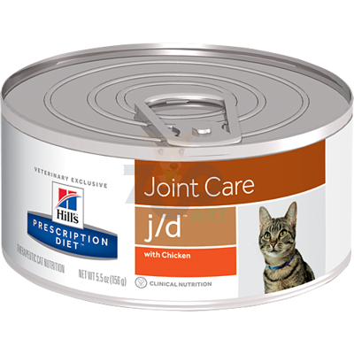 HILL'S PD Prescription Diet Feline j/d 156g - puszka