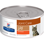 HILL'S PD Prescription Diet Feline j/d  24 x 156g - puszka
