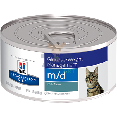 HILL'S PD Prescription Diet Feline m/d  24 x 156g - puszka