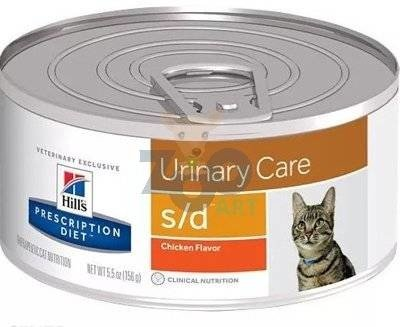 HILL'S PD Prescription Diet Feline s/d 12 x 156g - puszka